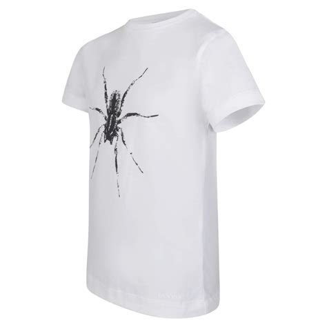 Nakedlily T Shirt Spider White lanvin boys white t shirt with spider print