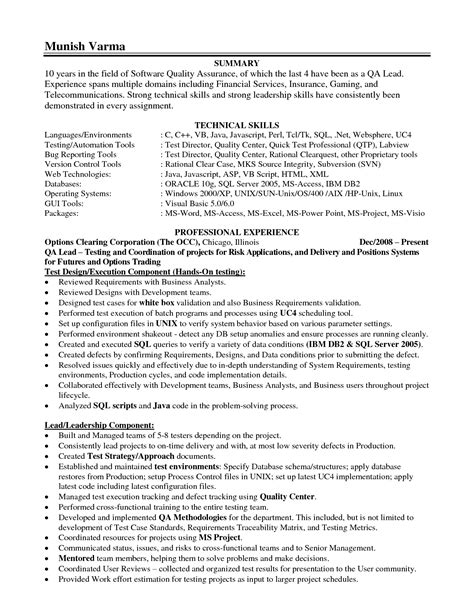 resume templates for leadership leadership skills on resume sle resume center