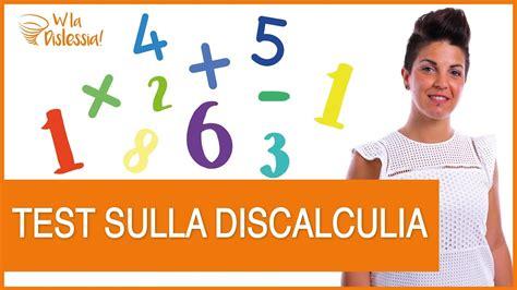 test discalculia test sulla discalculia come sapere se tuo figlio 232