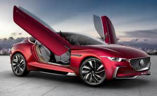 car motors mg motor e vision electric concept supercar enters