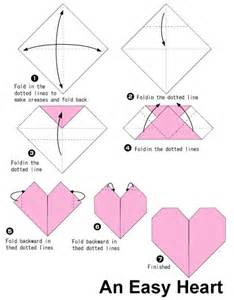 How To Make A Easy Origami - 25 best ideas about origami on easy