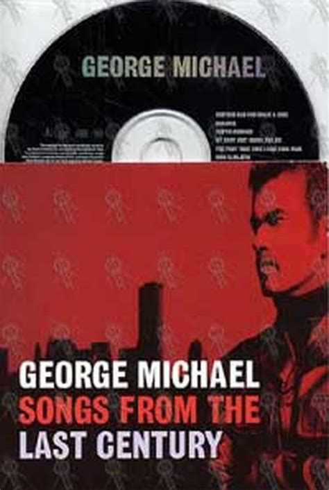Kaset George Michael Songs From The Last Century Michael George Songs From The Last Century Album Cd
