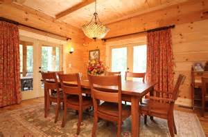 How To Build A Rustic Dining Room Table Montpelier Log Cabin Rustic Dining Room Richmond