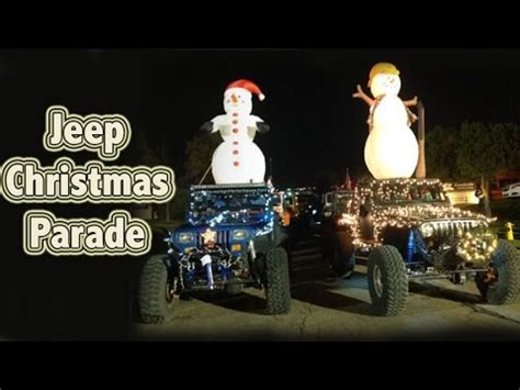 christmas parade jeep genright offroad s jeep christmas parade simi valley
