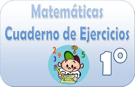 imagenes matematicas primer grado matem 225 ticas cuaderno de ejercicios para primer grado