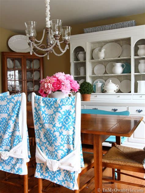 how to make easy slipcovers for dining room chairs chair back runners in my own style