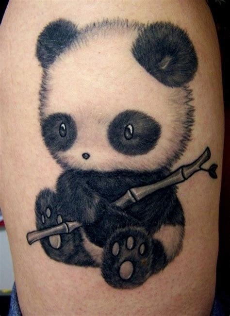 Tattoo Of Panda Bear | 25 awesome panda bear tattoo ideas