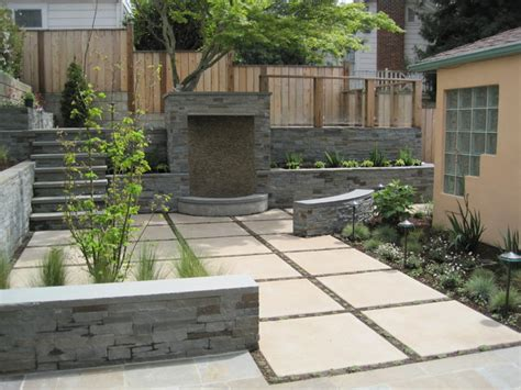 Modern Concrete Patio Designs Buena Vista Rear Yard Modern Patio Other Metro By Insideout Design Inc
