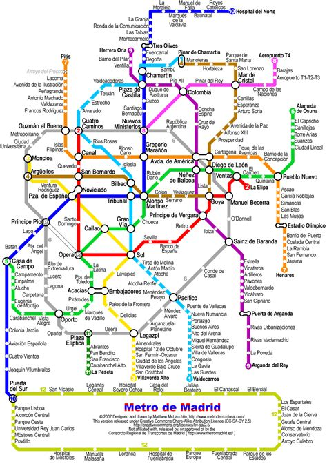 plano metro de madrid map subway madrid spain joao leitao travel