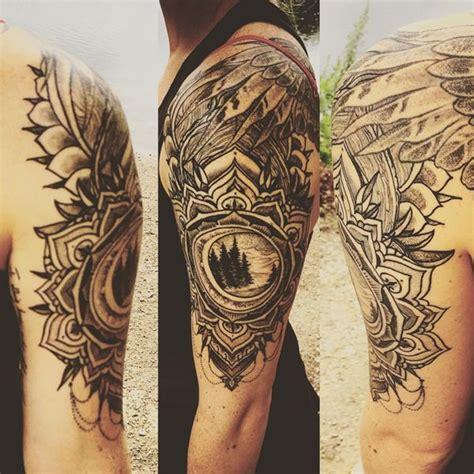 mandala colorati tattoo 53 top mandala tattoos of all time