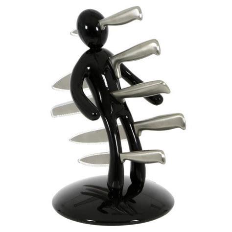 Voodoo Knife Block Set   Black   at Mighty Ape NZ