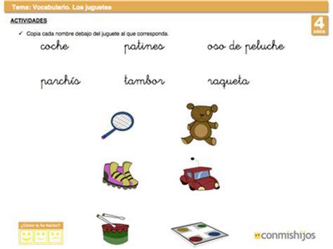 imagenes juguetes en ingles los juguetes ficha para liar vocabulario