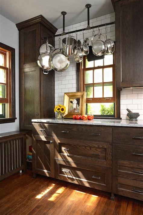 Best 25  Brown cabinets kitchen ideas on Pinterest   Dark