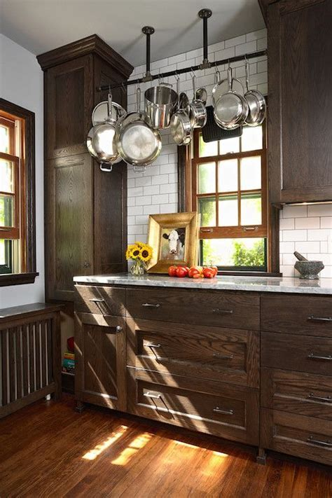 Best 25  Brown cabinets kitchen ideas on Pinterest   Dark