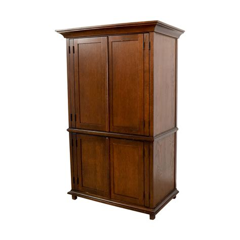 armoire with hanging space 69 off wooden wardrobe with hanging and shelving space