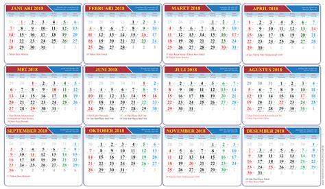 Kalender 2018 Yang Ada Tanggal Jawa Gratis Kalender 2018 Vektor Lengkap Tanggal