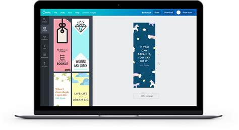 canva gratis crea un segnalibro personalizzato gratis online canva