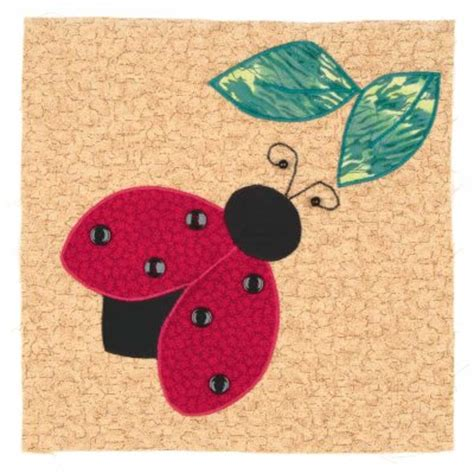 Ladybug Quilt Patterns by Fly Away Ladybug Quilt Block Howstuffworks