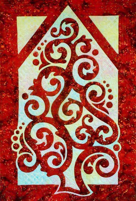 Pacific Quilt Company by Pacific Quilt Company Hawaiian Applique Quilt