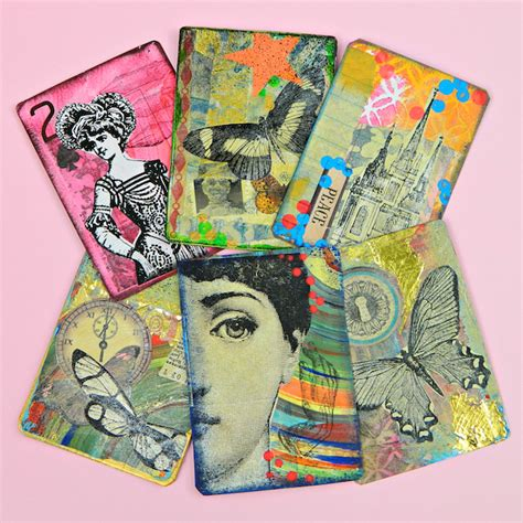how to make artist trading cards how to make rubber texture sts for artist trading