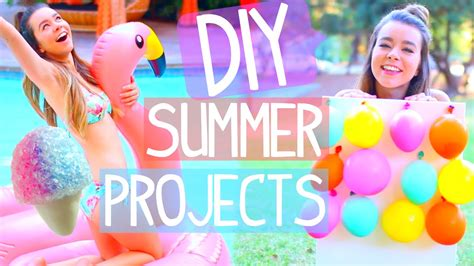 diy summer projects room decor activities food more youtube