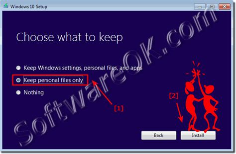 install windows 10 keep personal files only problems when auto upgrading to windows 10