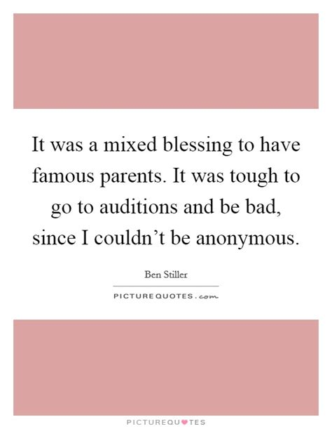 The Mixed Blessing Of Donations by Tough Parenting Quotes Sayings Tough Parenting Picture