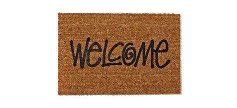 Stussy Doormat by Stussy Quot Welcome Quot Door Mat Green Label