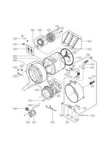 Front Desk Unit 780 Front Load Washer Lg Front Load Washer Parts Diagram