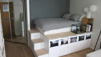 ikea platform bed with storage ikea hack platform bed met extra opbergruimte roomed
