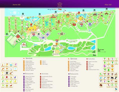 palace resort cancun map moon palace resort cancun search v