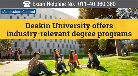 Deakin Mba Reputation by Admissions Connect Deakin