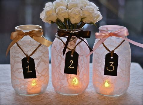 wedding table decoration ideas with jars louisville wedding the local louisville ky wedding