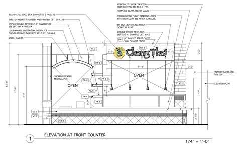 food court design guidelines front elevation construction drawing j kretschmer architect