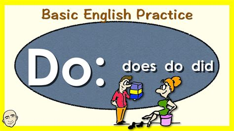 do does and did in questions youtube auxiliary verb do english speaking practice esl