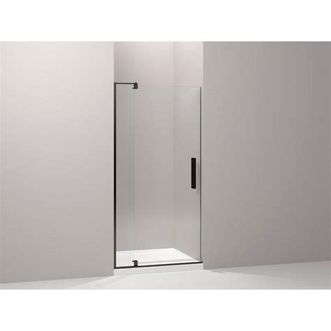 Kohler Revel 36 In W X 70 In H Frameless Pivot Shower Frameless Pivot Glass Shower Doors