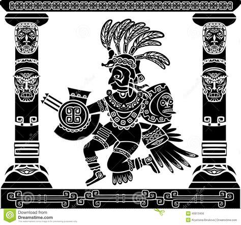 imagenes de dios quetzalcoatl dios azteca quetzalcoatl ilustraci 243 n del vector imagen