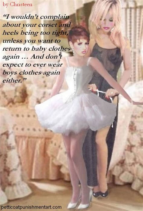 christeen sissy art captions part 15 petticoat art by christeen pictures