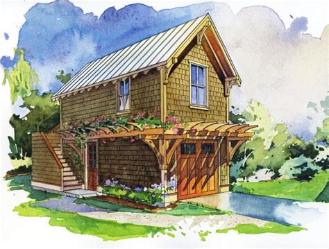 small house with garage plans tiny and small house plans jeffrey the natural builder
