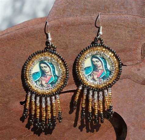 Handmade Mexican Jewelry - unique jewelry mexican handmade beaded earrings by