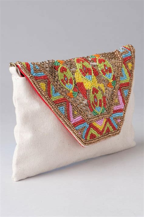 Morocco Clutch by Morocco Beaded Clutch S