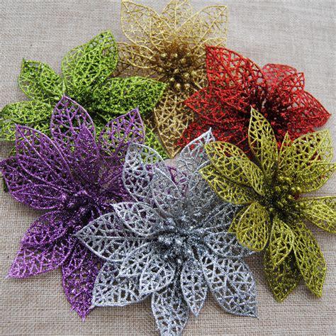 grossista fiori acquista all ingrosso artificiale glitter fiori da