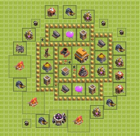 th5 base best defense search clash of clans search