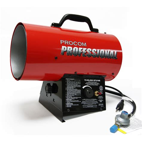 forced air gas heaters portable forced air heater propane heater model pp60fav