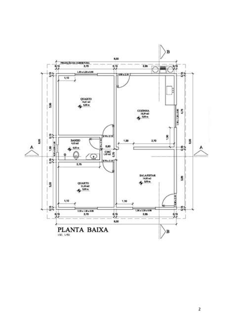 desenhar planta baixa desenho t 233 cnico planta baixa cortes fachada cobertura