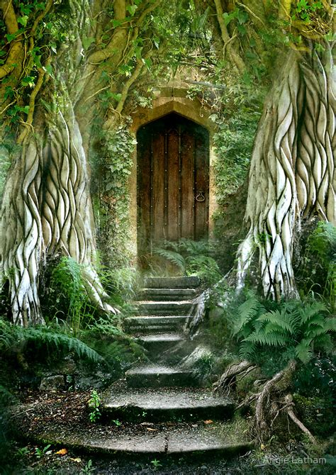 The Secret Door quot the secret door quot by angie latham redbubble