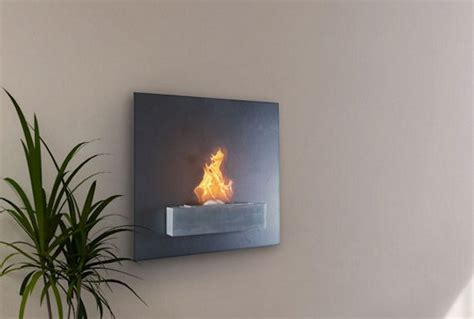 serafin wall mount liquid fuel fireplace ohgizmo