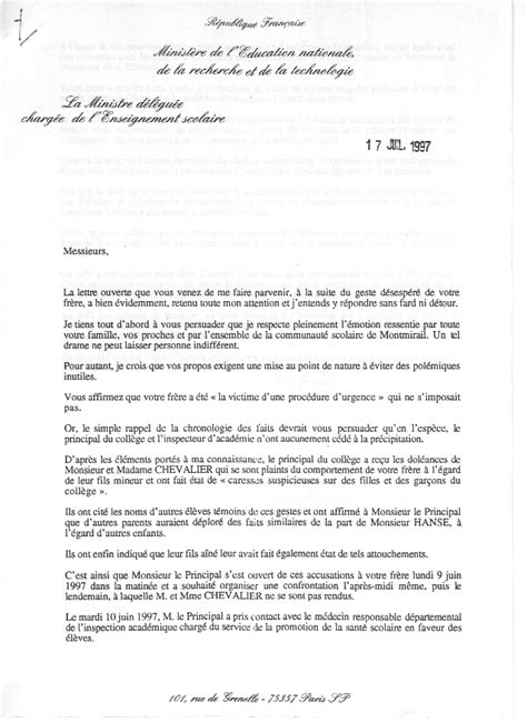 Lettre De Motivation Lycée Redoublement Les Interventions De Mme Royal Apr 232 S Le De Bernard Hanse Bernard Hanse Un Homme D