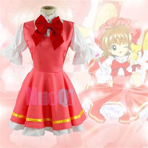 Costume Cardcaptor Kinomoto Pink Import 38 best images about cardcaptor costume ideas on
