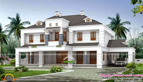 colonial style dormer window home kerala home design and